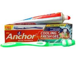 Combo 8  hộp kem đánh răng Anchor Fresh Gel mát lạnh 150 g