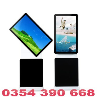 Màn hình quảng cáo LCD chân đứng 360 độ 49 inch Samsung, LG kết nối USB, WIFI, HDMI - MHQCCĐ36049INUW thumbnail