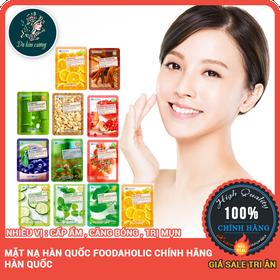 Mặt nạ hàn quốc foodaholic dưỡng ẩm chống lão hóa trị mụn - matnaduong