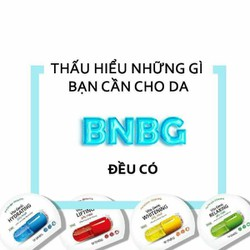 Nạ BNBG jelly mask đại diện cho 4 loại vitamin