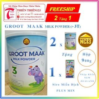 Sữa bột y tế GROOT MAAK Milk Powder, NCT3, hộp 900gr [Combo 2 tặng 1] - 900 thumbnail