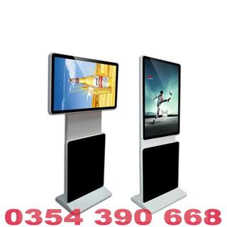 Màn hình quảng cáo LCD chân đứng 360 độ 32 inch Samsung, LG kết nối Sim 4G - MHQCCĐ36032INUWS thumbnail