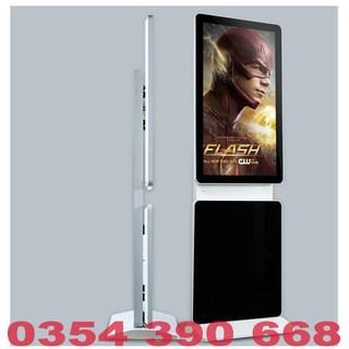 Màn hình quảng cáo LCD chân đứng 360 độ 49 inch Samsung, LG kết nối Sim 4G - MHQCCĐ36049INUWS thumbnail