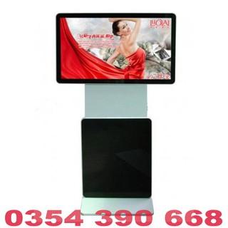 Màn hình quảng cáo LCD chân đứng 360 độ 43 inch Samsung, LG kết nối USB, WIFI, HDMI - MHQCCĐ36043INUW thumbnail