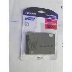 SSD 120GB Kington A400 SATA III Bảo Hành 3 năm