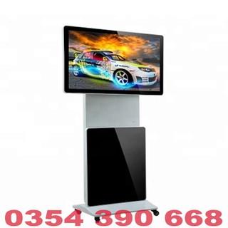 Màn hình quảng cáo LCD chân đứng 360 độ 55 inch Samsung, LG kết nối USB, WIFI, HDMI - MHQCCĐ36055INUW thumbnail