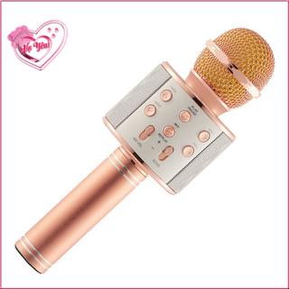 Micro Bluetooth V4 1 Karaoke Không Dây Model Ws 858 Hỗ Trợ Thẻ Nhớ Và Aux Màu Ngẫu Nhiên - 2859122806 thumbnail