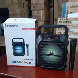 Loa Karaoke Zansong S68 Có Remote Tặng Kèm 1 Mic Không Dây - 6130119809 thumbnail