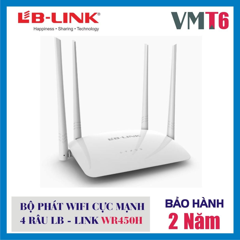 Bộ phát sóng 4 râu wifi LB - LINK WR450H - Hàng chính hãng !!!