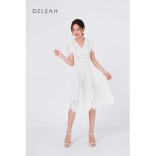 De Leah - Đầm Xoè Ren Can Dây Thang - Thời trang thiết kế - VL2013062Trx thumbnail