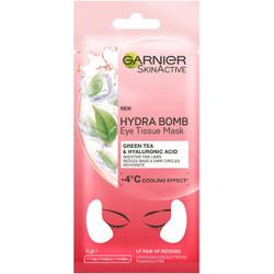 Mặt nạ mắt giảm quầng thâm và bọng mắt Garnier Skin Hydra Bomb Anti-Ageing Eye Tissue Mask 6g
