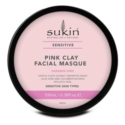 Mặt Nạ Đất Sét Hồng Sukin Sensitive Pink Clay Facial Masque 100ml