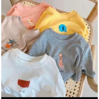 combo 2 áo giữ nhiệt hình thú cực hot cho bé - haiao thugn thumbnail