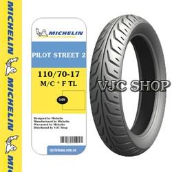 Lốp Michelin 110-70-17 MC 54S PILOT STREET 2 F TL