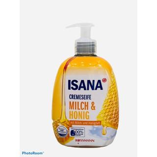 [NEW] Nước Rửa Tay ISANA Sữa Tươi Mật Ong Milch & Honig 500ML - Nội địa Đức - PVN831 thumbnail