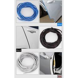 Miếng dán chống trầy cửa xe,dán bên khe cửa, 1 Trong Suốt PC Cửa Xe Viền Trang Trí Tàu Đúc Cao Su Bảo Vệ