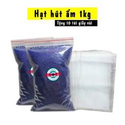 Hạt Hút Ẩm Cho Máy Ảnh Gói 1Kg - Tặng 10 Túi Vải Đựng Hạt