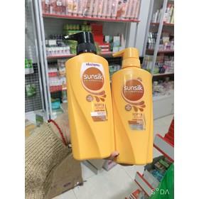 Dầu gội đầu Thái Lan Sunsilk Mềm Mượt vàng - 450ml - Sunsilk vàng - 7031