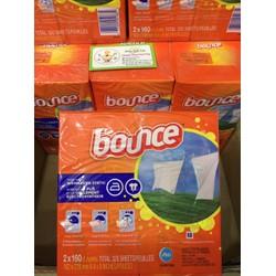 Giấy Thơm quần áo Bounce 160 tờ