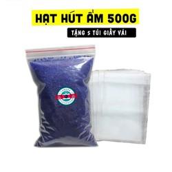 Hạt hút ẩm cho máy ảnh gói 500g - Tặng 5 Túi Vải Đựng Hạt
