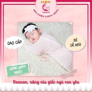 Nhộng Chũn -Túi ngủ cho bé - Ủ Kén Sơ sinh Mã NCD02 – Vải Cotton Co Giãn 4 Chiều – Chống Giật Mình