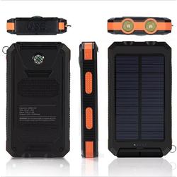 Pin sạc dự phòng năng lượng mặt trời 20000 mAh kiêm đèn pin siêu sáng