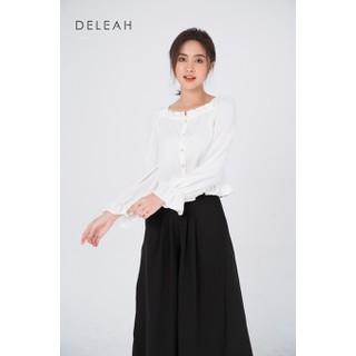 De Leah - Áo Cổ Vuông Kẹp Bèo - Thời trang thiết kế - A2013063Tr thumbnail
