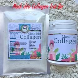 Bột Mask Dẻo Collagen Bơ Sáp 200g có giấy VSATTP và ĐKKD nguyên chất thiên nhiên 100% dùng để đắp mặt đa công dụng