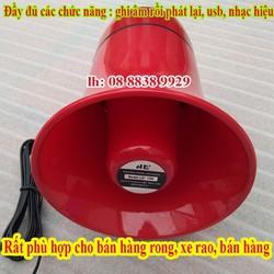 LOA NÉN CÓ GHI ÂM - LOA PHÓNG THANH TD619 - LOA RAO HÀNG