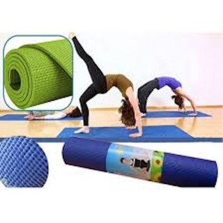 Thảm yoga 2 lớp - thảm yoga tpe 2 lớp - - Thảm yoga 2 lớp loại đẹp thumbnail