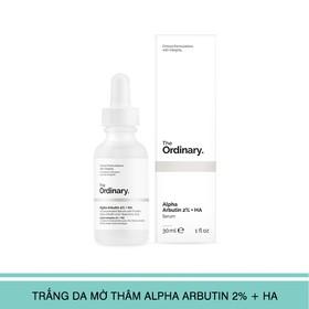 The Ordinary Alpha Arbutin 2% + HA 30ml - Alpha Arbutin 2% + HA 30ml