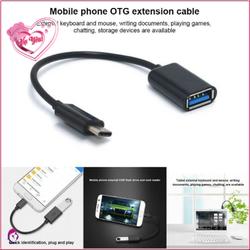 Cáp OTG chuyển đổi USB TYPE C sang USB 3.0 chuyển dữ liệu – đọc dữ liệu – sạc điện thoại-.