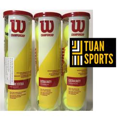 Bóng Tennis Wilson Vàng 4 Trái 1 lon