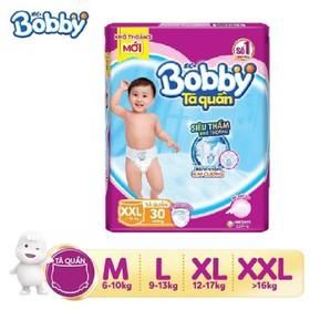 Tã QUẦN BOBBY Siêu thoáng đủ size S,M,L,XL,XXL,XXXL nhiều quà tặng kèm hấp dẫn - Tã BOBBY