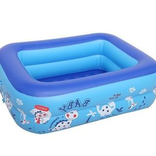 Bể bơi 120 90 35 cm -2 tầng- 2 lớp chống trượt dành cho bé - Bể bơi thumbnail
