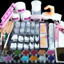 Bộ dụng cụ vẽ trang trí móng tay chuyên nghiệp đầy đủ gồm nhiều món