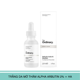 The Ordinary Salicylic Acid 2% Solution 30ml - Salicylic Acid 2% Solution