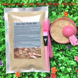 Bột Cám Gạo Thu-ốc Bắc 200g có giấy VSATTP và ĐKKD nguyên chất thiên nhiên 100% dùng để đắp mặt đa công dụng