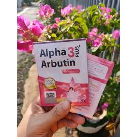 Viên kích trắng da body Alpha Arbutin 3 Plus chuẩn Thái - VIÊN KÍCH TRẮNG DA ALPHA