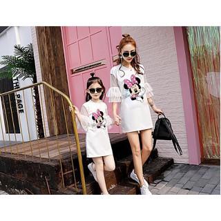 Đầm Suông Mẹ Bé Tay Lở Trẻ Trung HGS 999 - HGS 999 thumbnail