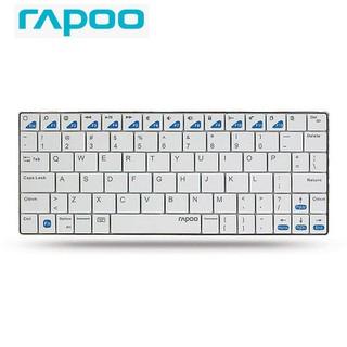 Bàn Phím Không Dây Bluetooth Rapoo E6500 Hàng Chính Hãng Bảo Hành 12 Tháng - E6500 thumbnail