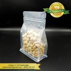 Combo 110 Túi Zipper 2Mặt Trong  Đáy Bằng - Đựng ngũ cốc, Trà, Đồ Sấy Khô, Các Loại Bột Hạt