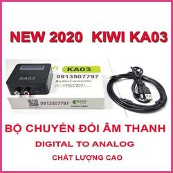 BỘ CHUYỂN ĐỔI ÂM THANH  KIWI KA03 - KA-03 DIGITAL TO ANALOG