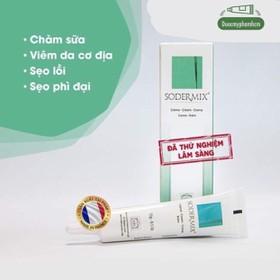Sodermix Cream 15g - Kem trị sẹo lồi, sẹo phì đại, chàm - 0573