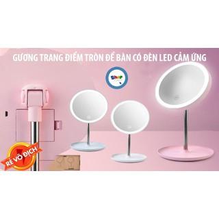 Gương soi có đèn LED sang trọng sạc pin - Gương soi có đèn LED tiện dụng thumbnail
