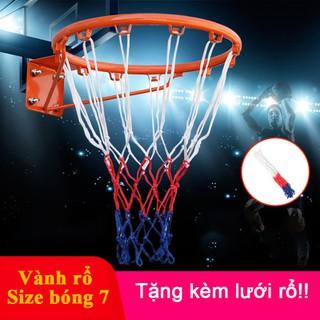 Vành Rổ Bóng Rổ - Size 7 (42cm) - Tặng kèm lưới rổ - Vành Rổ Bóng Rổ Size 7 thumbnail