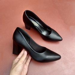 Được kiểm tra hàng – Giày cao gót đế vuông 7cm