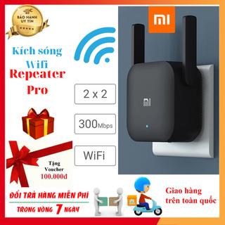 Kích sóng wifi - Xiaomi Repeater Pro 300Mbps 2 râu 64 thiết bị thumbnail