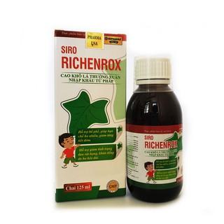 Siro RICHENROX cho bé hỗ trợ bổ phế, giảm ho khan tiếng kéo dài 100ml - RICHENROX 3