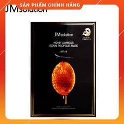 Hộp 10 Miếng Mặt Nạ Sáp Ong Honey Luminous Propolis Mask Jm Solution